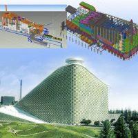 Amager Bakke atliekų deginimo jėgainė ir slidinėjimo kurortas viename