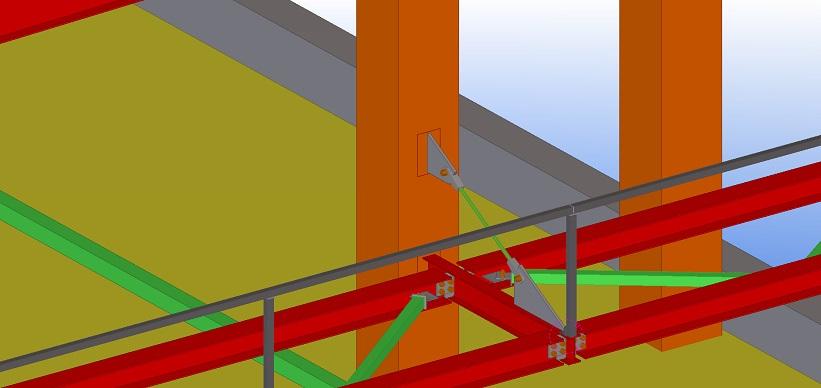 BIM projektai, stogelio konstrukcijos, Synergy Solutions
