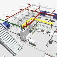 Pastato inžinerinių tinklų projektavimas BIM aplinkoje